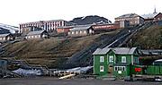 Barentsburg, Spitsbergen, Svalbard in June 2008