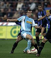 Milano 30-10-2004<br /> <br /> Campionato di calcio Serie A 2004-05<br /> <br /> Inter Lazio<br /> <br /> nella  foto Pandev Lazio<br /> <br /> Foto Snapshot / Graffiti
