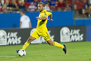 FRISCO, TX - SEPTEMBER 29:  Federico Higuain #33 of the Columbus Crew breaks free against FC Dallas on September 29, 2013 at Toyota Stadium in Frisco, Texas.  (Photo by Cooper Neill/Getty Images) *** Local Caption *** Federico Higuain