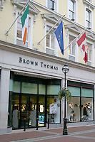 Brown Thomas Store, Grafton Street, Dublin, Ireland
