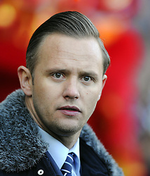 Former Swansea Striker, Lee Trundle - Photo mandatory by-line: Joe Meredith/JMP - Tel: Mobile: 07966 386802 19/01/2014 - SPORT - FOOTBALL - Liberty Stadium - Swansea - Swansea City v Tottenham Hotspur - Barclays Premier League