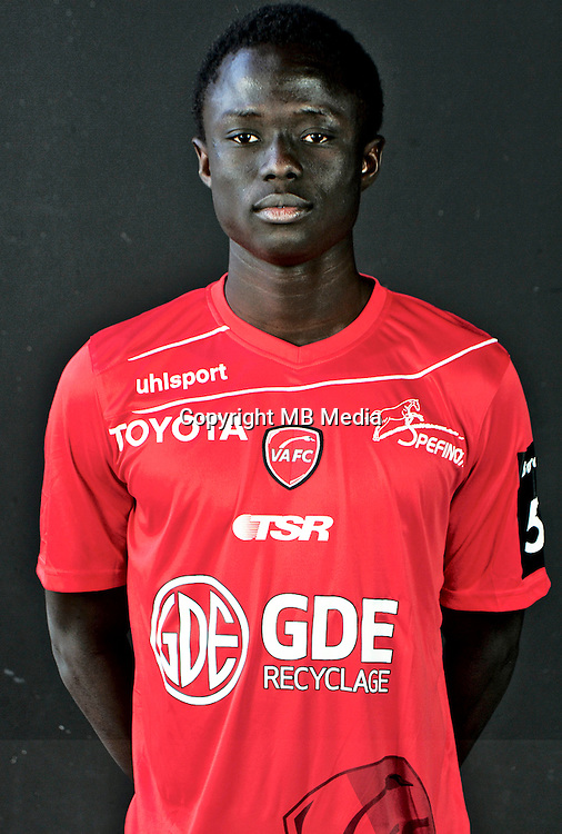 Elhadji DABO - 06.10.2016 - Photo officielle Valenciennes - Ligue 2<br /> Photo : Francois Lo Presti / Icon Sport