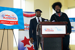 WaWa Welcome America announcement. Vista Top of the Tower, Philadelphia, PA USA - May 9, 2013; <br />