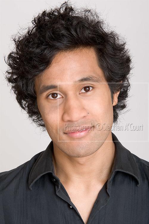 Actors' portfolio headshots for Toi Whakaari: NZ Drama School.
