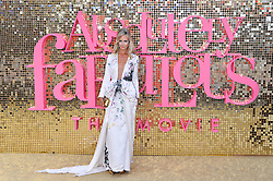 © Licensed to London News Pictures. 29/06/2016. LADY VICTORIA HERVEY attends the ABSOLUTELY FABULOUS world film premiere. London, UK. Photo credit: Ray Tang/LNP
