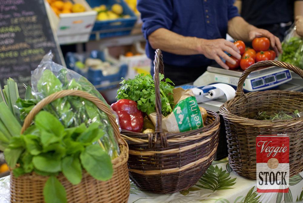 May 2011. Super Natural Food Market, Pearce Street, Dublin, Ireland. Copyright: Megan Young / Veggies and Me