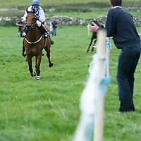 Lee Roche on Take That sails home to win the third at the annual Lisdoonvarna Races at the weekend.<br />