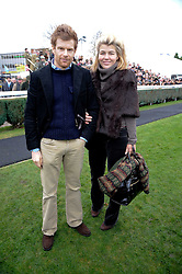 TOM & AMBER AIKENS and at the Hennessy Gold Cup 2009 held at Newbury Racecourse, Berkshire on 28th November 2009.