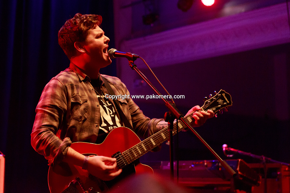 Edinburgh, UK. 25th November 2016. Broken Witt Rebels performs on stage at the Edinburgh Queen's Hall. Pako Mera