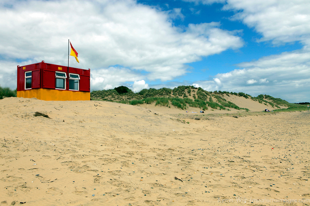 Europe, Ireland, Brittas Bay. Brittas Bay Beach, Countuy Wicklow.