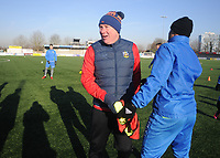 Football - 2016 / 2017 FA Cup - Sutton United training pre Third Round<br /> <br /> Sutton head coach Ian Baird at Gander Green Lane.<br /> <br /> COLORSPORT/ANDREW COWIE
