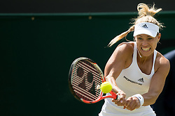 LONDON, ENGLAND - Saturday, July 2, 2016:  Angelique Kerber (GER) during the Ladies' Single 3rd Round match on day six of the Wimbledon Lawn Tennis Championships at the All England Lawn Tennis and Croquet Club. (Pic by Kirsten Holst/Propaganda)