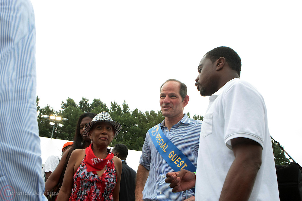 2 September 2013- Brooklyn, NY: New York City Comptroller Candidate Elliott Spitzer attends the 46th Annual West Indian Day Parade held along Eastern Parkway held on September 2, 2013 in Brooklyn, NY  ©Terrence Jennings