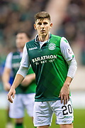 Emerson Hyndman (#20 ) of Hibernian FC during the Ladbrokes Scottish Premiership match between Hibernian and Rangers at Easter Road, Edinburgh, Scotland on 19 December 2018.