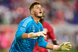 September 22, 2018 - Harrison, New Jersey, USA - Toronto FC Goalkeeper ALEX BONO  (25) in action at Red Bull Arena in Harrison New Jersey New York defeats Toronto 2 to 0 (Credit Image: © Brooks Von Arx/ZUMA Wire)