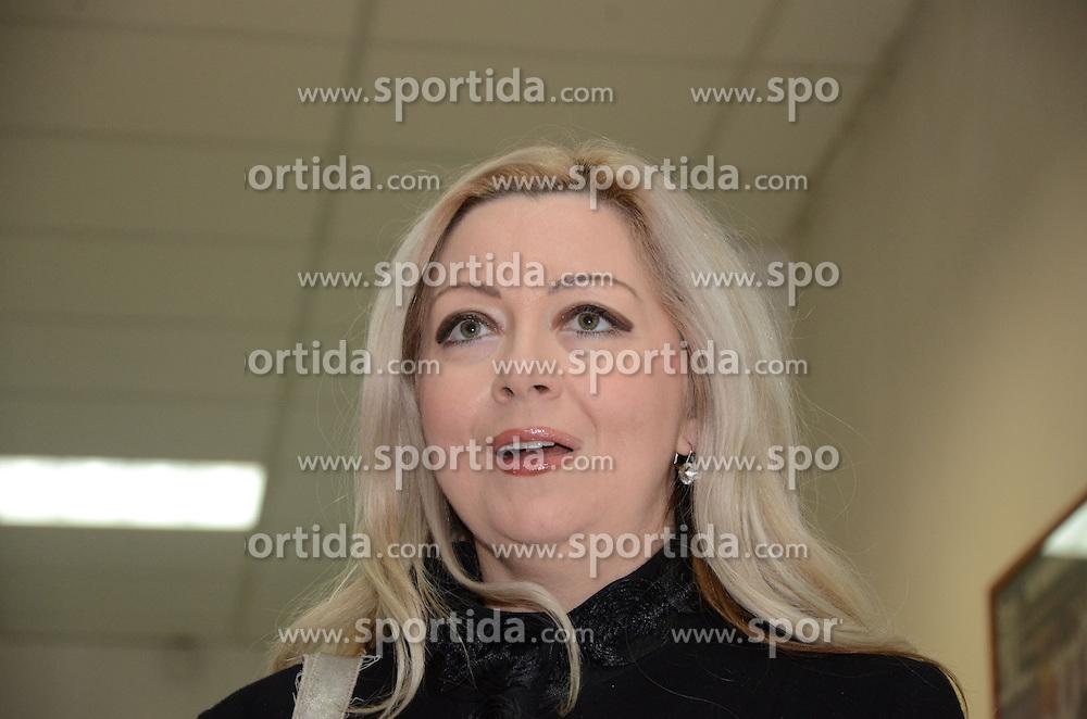 Natasa Horvat, new president of Mura 05 (Photo by Ales Cipot / Sportida.com)