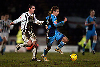 Photo: Richard Lane.<br /> Wycombe Wanderers v Notts County. Coca Cola League 2.<br /> 14/01/2006.