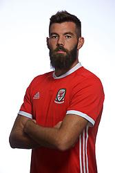 CARDIFF, WALES - Tuesday, September 4, 2018: Wales' Joe Ledley. (Pic by David Rawcliffe/Propaganda)