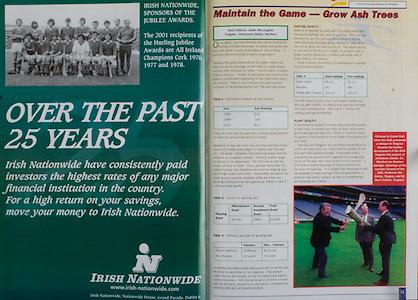 All Ireland Senior Hurling Championship Final,.09.09.2001, 9th September 2001,.Minor Cork 2-10, Galway 1-8,.Senior Tipperary 2-18, Galway 2-15,  .09092001AISHCF,.Irish Nationwide,