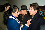 SERENA REES, PAUL SIMONON AND BRYAN FERRY, Paul Simonon  *** Local Caption *** -DO NOT ARCHIVE-© Copyright Photograph by Dafydd Jones. 248 Clapham Rd. London SW9 0PZ. Tel 0207 820 0771. www.dafjones.com.