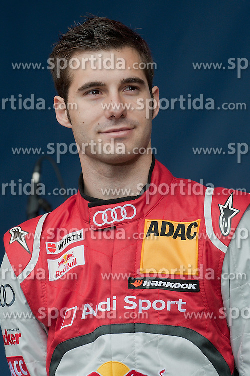 22.04.2012, Kurhaus, Wiesbaden, GER, DTM, Praesentation Wiesbaden, im Bild Miguel Molina (Phoenix Racing/ Audi A5 DTM (2012 // during the DTM Presentation 2012, at the Kurhaus, Wiesbaden, Germany on 2012/04/22. EXPA Pictures © 2012, PhotoCredit: EXPA/ Eibner/ Ulrich Roth..***** ATTENTION - OUT OF GER *****