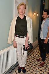 HENRY CONWAY at the Grand opening of Library - a new members club at 112 St Martin's Lane, London on 25th June 2014.