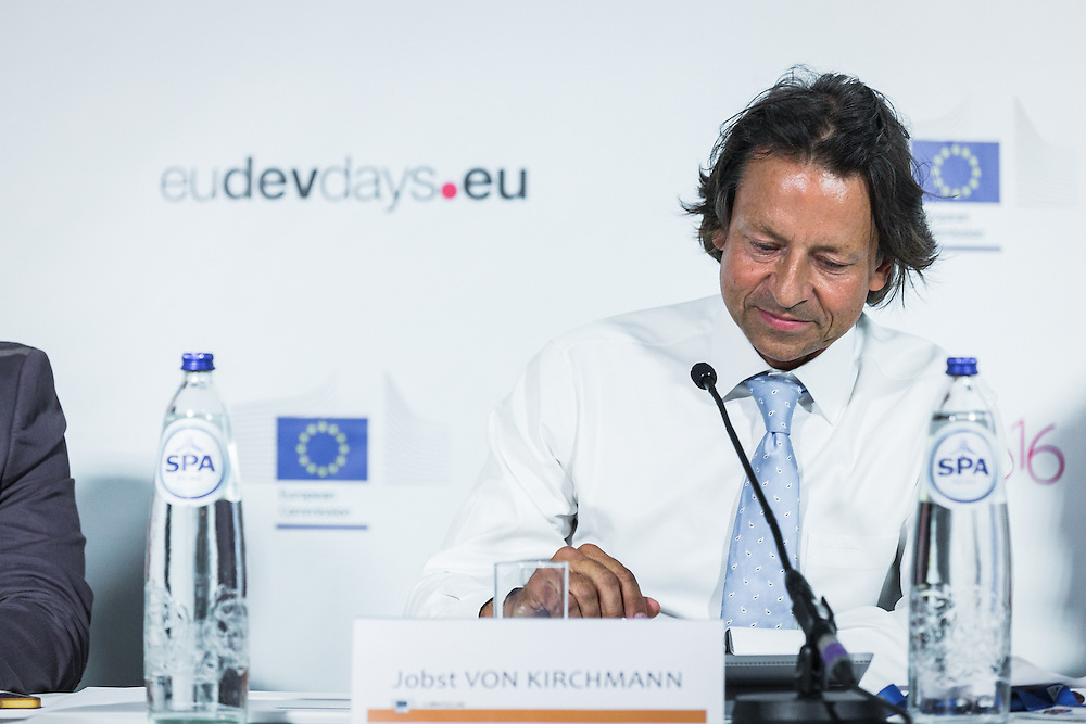 20160615 - Brussels , Belgium - 2016 June 15th - European Development Days - Support to civil society organisations working in the field of human rights in Iraq - Jobst von Kirchmann , Head of Unit Development Coordination Central Asia , Middle East Gulf , Pacific , European Commission - DG for International Cooperation and Development © European Union