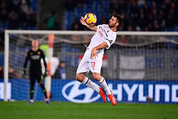 03.02.2019, Stadio Olimpico, Rom, ITA, Serie A, AS Roma vs AC Milan, 22. Runde, im Bild cutrone // cutrone during the Seria A 22th round match between AS Roma and AC Milan at the Stadio Olimpico in Rom, Italy on 2019/02/03. EXPA Pictures © 2019, PhotoCredit: EXPA/ laPresse/ Alfredo Falcone<br /> <br /> *****ATTENTION - for AUT, SUI, CRO, SLO only*****