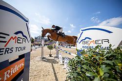 WULSCHNER Holger (GER), DORETTE<br /> Münster - Turnier der Sieger 2019<br /> Grosser Preis von Münster <br /> BEMER Riders Tour Etappenwertung<br /> CSI4* - Int. Jumping competition over 2 rounds (1.60 m)<br /> 04. August 2019<br /> © www.sportfotos-lafrentz.de/Stefan Lafrentz