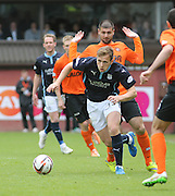 Dundee's Greg Stewart goes past Dundee United's Nadir Çiftçi - Dundee United v Dundee at Tannadice Park in the SPFL Premiership<br /> <br />  - © David Young - www.davidyoungphoto.co.uk - email: davidyoungphoto@gmail.com