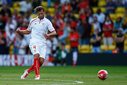 Grzegorz Krychowiak of Sevilla - Mandatory by-line: Jason Brown/JMP - Mobile 07966 386802 31/07/2015 - SPORT - FOOTBALL - Watford, Vicarage Road - Watford v Sevilla - Pre-Season Friendly
