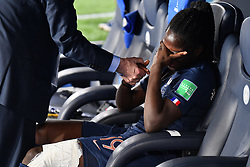 June 29, 2019 - Paris, ile de france, France - tears of Griedge Mbock Bathy (FRA) after the loss in the quarter-final between FRANCE vs USA in the 2019 women's football World cup at Parc des Princes in Paris, on the 28 June 2019. (Credit Image: © Julien Mattia/NurPhoto via ZUMA Press)