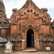 BAGAN, Myanmar - A temple in the Paya-thone-zu Group in the Bagan Archeological Zone in Bagan, Maynmar (Burma).