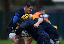 November 20, 2018 - Rome, Italy - Rugby Italy training - Cattolica Test Match.Alessandro Zanni at Giulio Onesti Sport Center in Rome, Italy on November 20, 2018. (Credit Image: © Matteo Ciambelli/NurPhoto via ZUMA Press)
