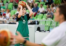Vlatko Cancar during public training session of Slovenian National Basketball team, on August 1, 2016 in Arena Stozice, Ljubljana, Slovenia. Photo by Vid Ponikvar / Sportida