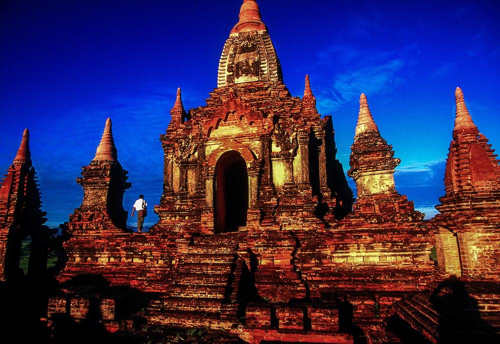 South Guni Temple, Bagan (Pagan), Myanmar (Burma)