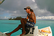 Bora Bora, French Polynesia (editorial use only, not model released)<br />