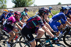 Tanja Erath (GER) of CANYON//SRAM Racing Team rides mid-pack during Stage 1 of the Amgen Tour of California - a 124 km road race, starting and finishing in Elk Grove on May 17, 2018, in California, United States. (Photo by Balint Hamvas/Velofocus.com)