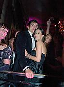 ASHTON KUTCHER; DEMI MOORE; WATCHING BRUCE WILLIS AND SCOUT WILLIS HAVING  FIRST DANCE. The 2008 Crillon Debutante Ball, Crillon Hotel. Paris. 29 November 2008 *** Local Caption *** -DO NOT ARCHIVE -Copyright Photograph by Dafydd Jones. 248 Clapham Rd. London SW9 0PZ. Tel 0207 820 0771. www.dafjones.com