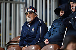 A Bristol Bears supporter in the crowd - Mandatory byline: Patrick Khachfe/JMP - 07966 386802 - 26/10/2019 - RUGBY UNION - The Twickenham Stoop - London, England - Harlequins v Bristol Bears - Gallagher Premiership