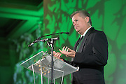 David Abram receives the Distinguished Service Award during the 2016 Alumni Awards Gala at Ohio University's Baker Center Ballroom on Friday, October 07, 2016.