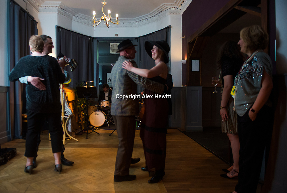 Bo'Ness Hippodrome Festival of Silent Cinema 2017<br /> <br /> The Speakeasy at the Richmond Hotel<br /> <br /> picture by Alex Hewitt<br /> alex.hewitt@gmail.com<br /> 07789 871 540