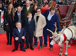 Cast of Get Santa  attend The UK Premiere of Get Santa at Vue West End, Leicester Square, London on Sunday 30th November 2014