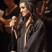 060311 Wilmington DE: Cab Calloway student Natasha Corinne Michael opens commencement exercises with the singing of the National Anthem Friday, June 3, 2011 at The Grand Opera House In Wilmington Delaware...Special to The News Journal/SAQUAN STIMPSON