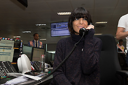 September 11, 2018 - London, London, UK - London, UK.  Claudia Winkleman at the 14th Annual BGC Charity Day held on the trading floor of BGC Partners in Canary Wharf, to raise money for charitable causes in commemoration of BGC's 658 colleagues and the 61 Eurobrokers employees lost on 9/11. (Credit Image: © Vickie Flores/London News Pictures via ZUMA Wire)