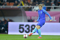 November 14, 2017 - Bucharest, Romania - Netherlands' player Matthijs De Ligt during International Friendly match between Romania and Netherlands at National Arena Stadium in Bucharest, Romania, on 14 november 2017. (Credit Image: © Alex Nicodim/NurPhoto via ZUMA Press)