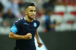 August 22, 2017 - Nice, France - Adam Ounas of Napoli  during the UEFA Champions League Qualifying Play-Offs round, second leg match, between OGC Nice and SSC Napoli at Allianz Riviera Stadium on August 22, 2017 in Nice, France. (Credit Image: © Matteo Ciambelli/NurPhoto via ZUMA Press)
