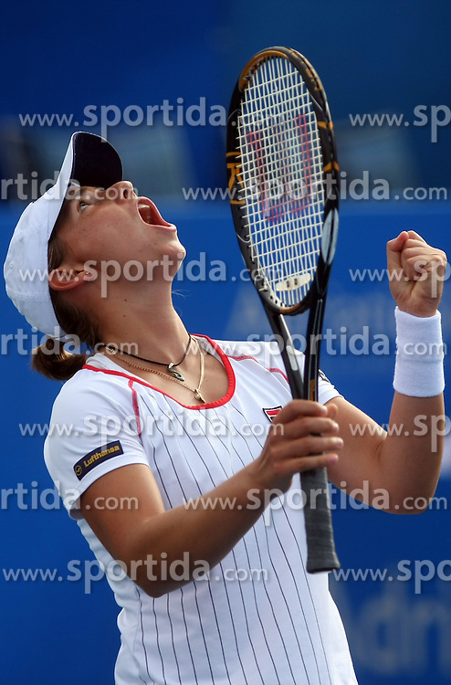 Marina Erakovic of New Zeland at 3rd Round of Banka Koper Slovenia Open 2008, on July 23, 2008, Portoroz - Portorose, Slovenia. (Photo by Vid Ponikvar / Sportal Images)...