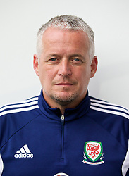 CARDIFF, WALES - Tuesday, August 21, 2014: Wales' Mike Murphy. (Pic by David Rawcliffe/Propaganda)