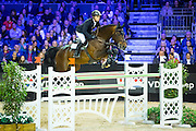 Willem Greve - Eldorado van Zeshoek TN<br /> Jumping Indoor Maastricht 2016<br /> © DigiShots